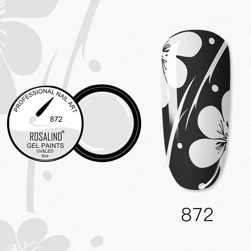 ROSALIND Nail Gel 5ml (RF872)
