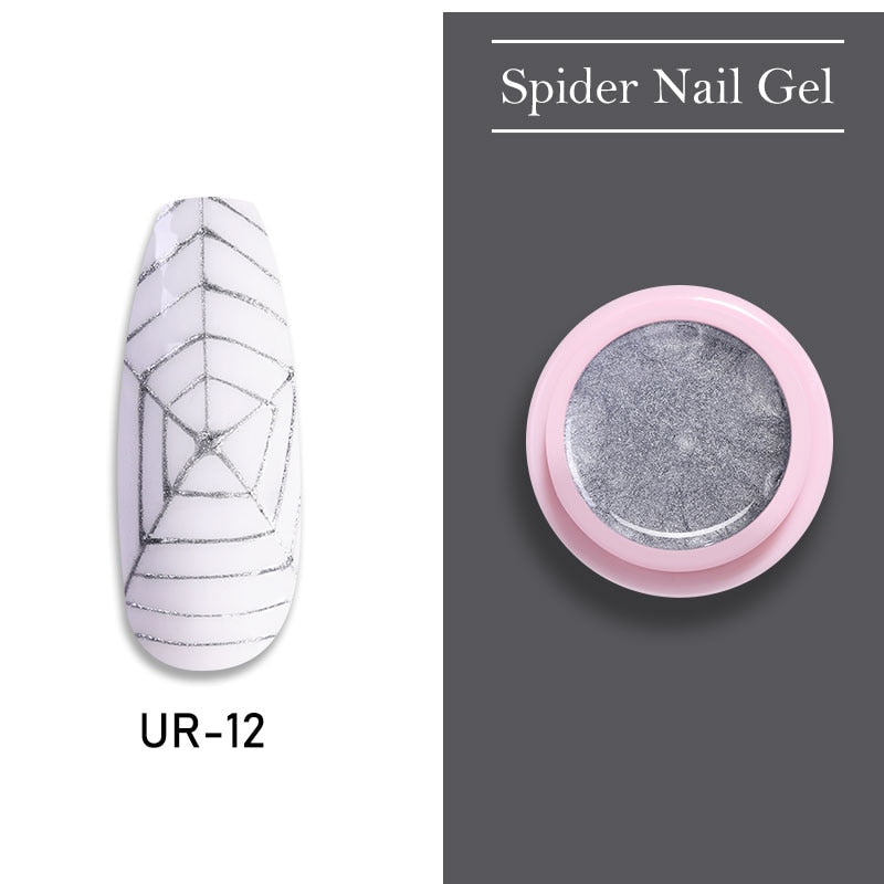 UR SUGAR Tasman Gray Nail Spider Gel Polish 7ml