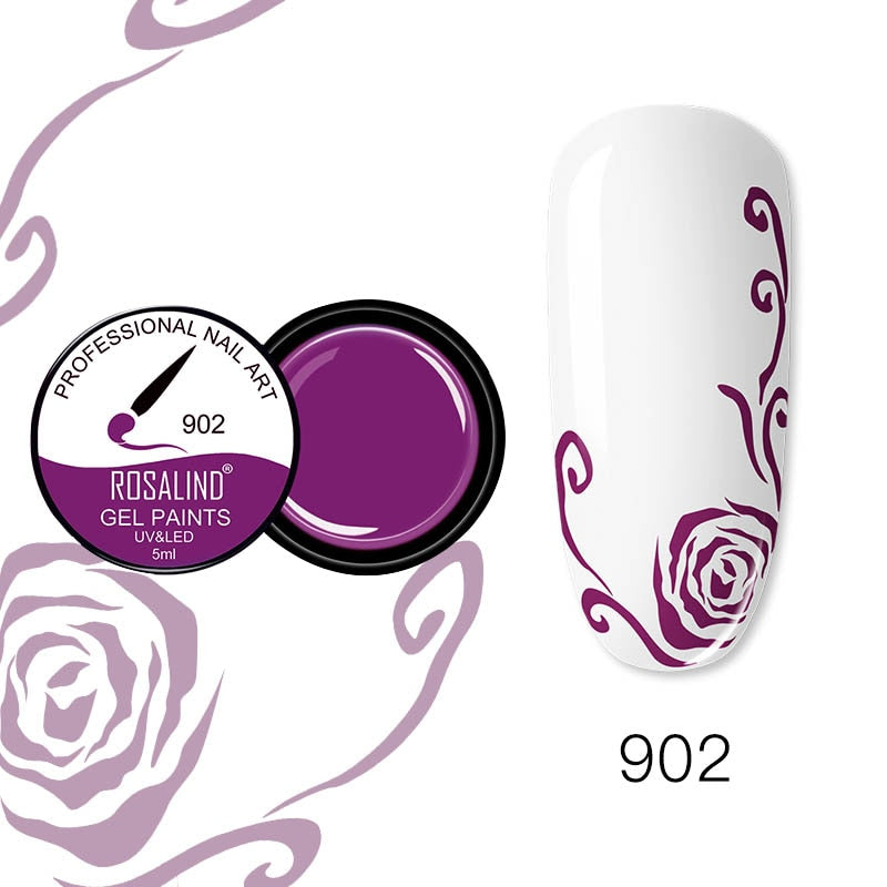 ROSALIND Nail Gel 5ml (RF902)