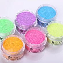 Load image into Gallery viewer, UR SUGAR 5ml Fluorescence Neon Dip Nail Powder  Gradient Glitter Pigment Dipping Nail Powder Nail Art Decoration DIY
