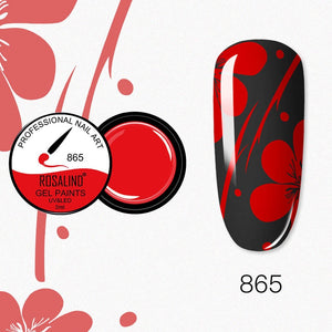 ROSALIND Nail Gel 5ml (RF865)