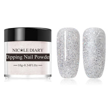 Load image into Gallery viewer, NICOLE DIARY Glitter Dip Nail Powder 10g (13)