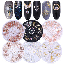Load image into Gallery viewer, Mixed Color Nail Rhinestones Stones AB Color Rhinestone Irregular Beads  For Nails Art Decorations Crystals Accessories