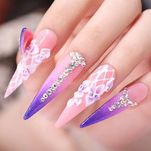 Load image into Gallery viewer, NICOLE DIARY Acrylic Powder 10ml Tip Extension French Nail Polymer Powder Nail  Builder  Nail Polymer Nail Tools