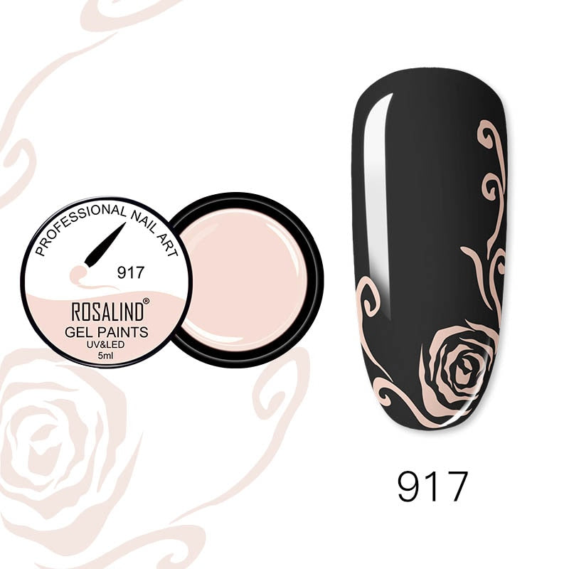 ROSALIND Nail Gel 5ml (RF917)