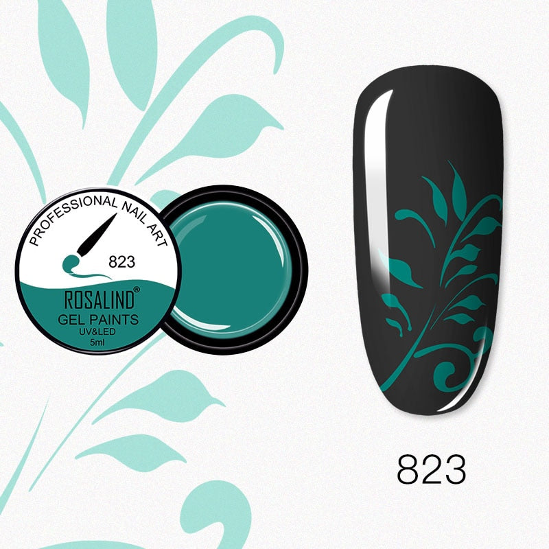 ROSALIND Nail Gel 5ml (RF823)