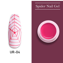 Load image into Gallery viewer, UR SUGAR Misty Rose Pink Nail Spider Gel Polish 7ml