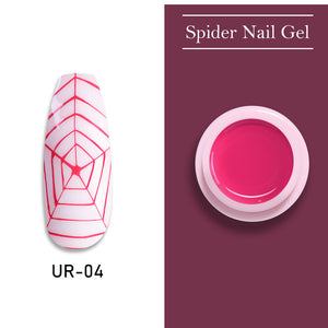 UR SUGAR Misty Rose Pink Nail Spider Gel Polish 7ml
