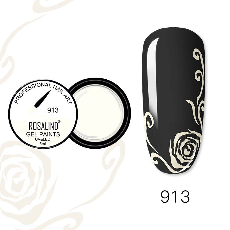 ROSALIND Nail Gel 5ml (RF913)