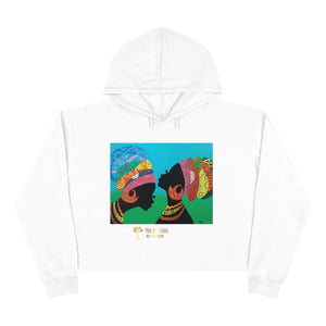 Two Queens Crop Hoodie