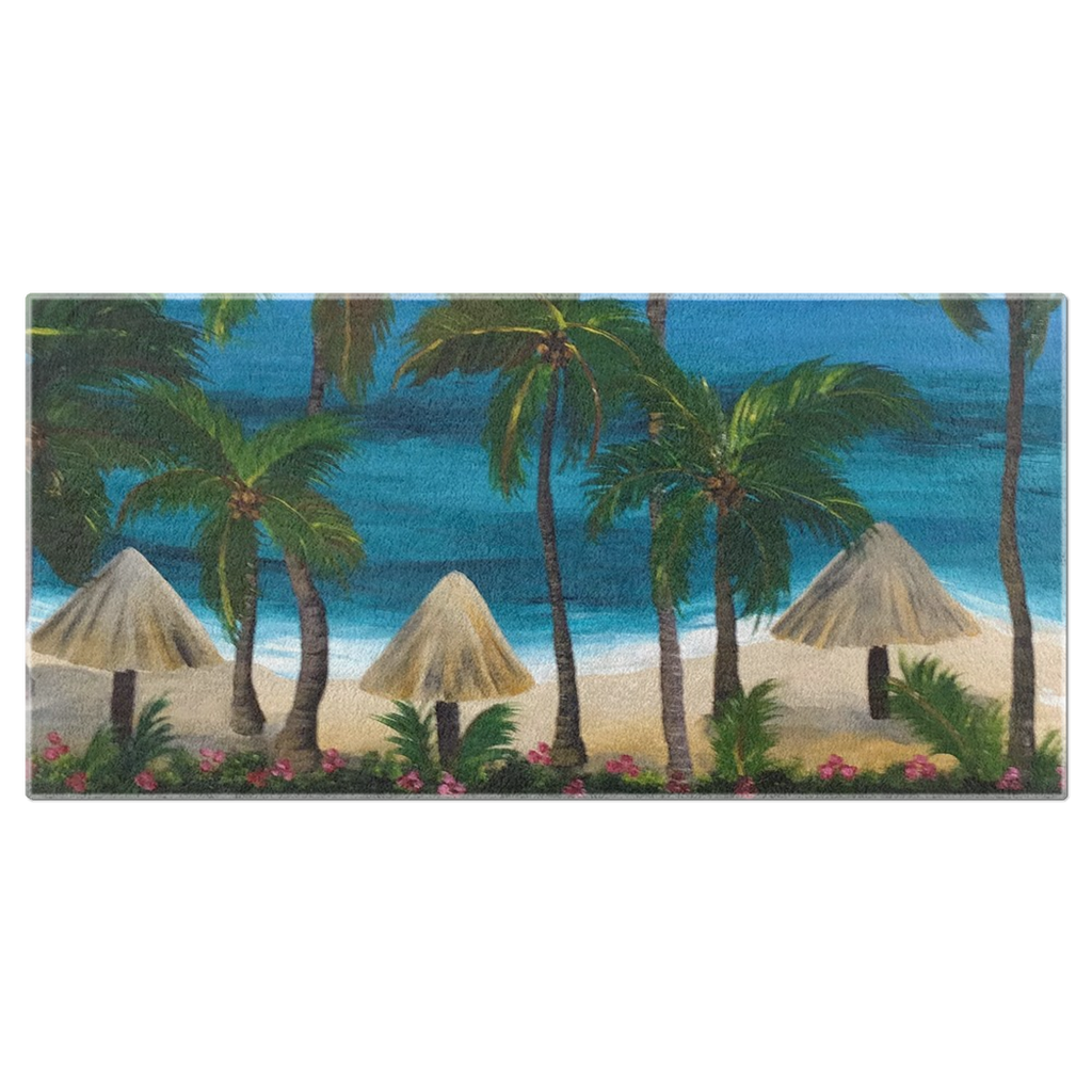 Caribbean Vibe Beach Towels