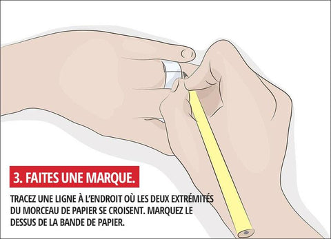 guide bague taille