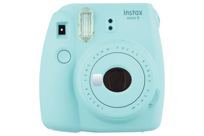 Fujifilm Instax Mini 9 Instant Camera including 10 shots - Ice Blue