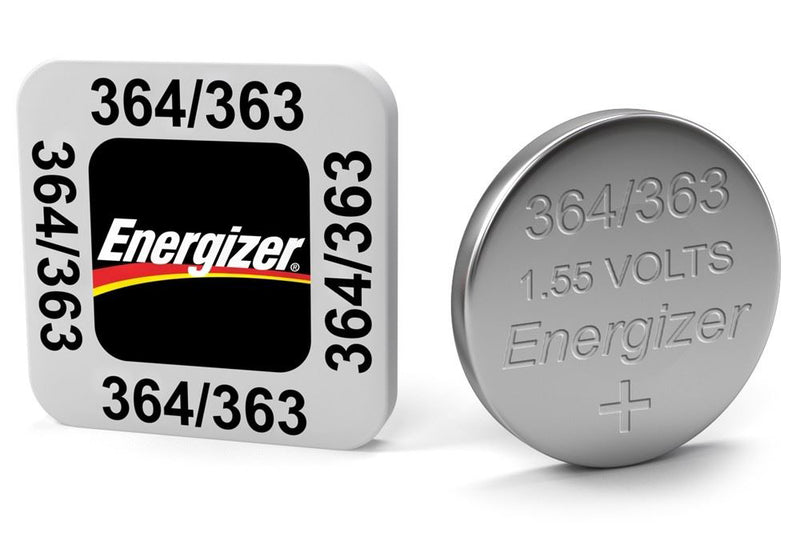 Energizer SR60/S42 364/363 Silver Oxide Coin Cell Battery