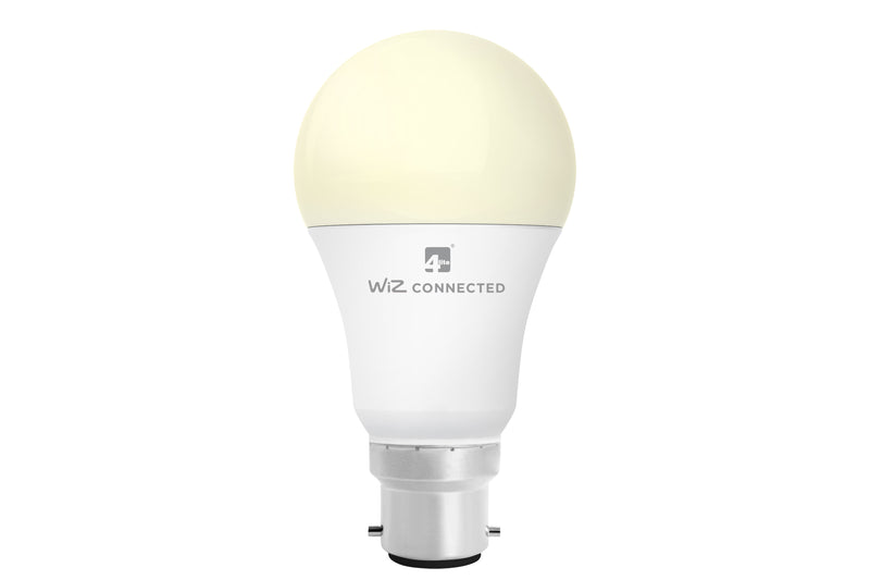 4lite WiZ Connected A60 Classic White WiFi LED Smart Bulb - B22
