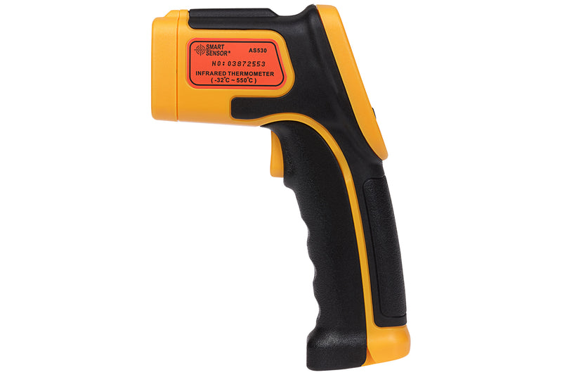 Precision Gold Infrared Thermometer Laser Sighted Gun Monitor -32C-550C