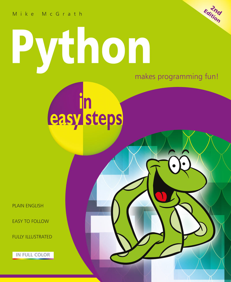 In Easy Steps Python In Easy Steps, 2nd Edition