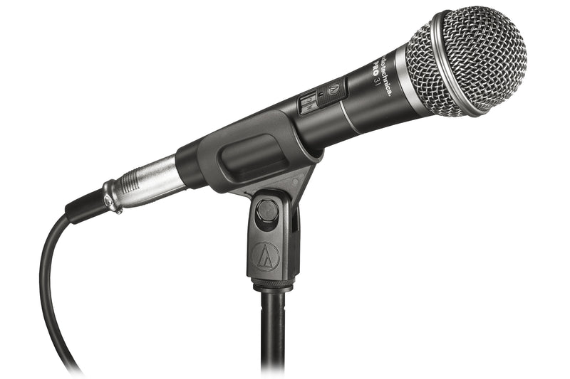 Audio-Technica PRO31QTR Pro-Series Cardioid Dynamic Handheld Microphone - Black