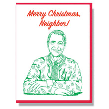 Load image into Gallery viewer, RIP Fred Rogers Christmas Card
