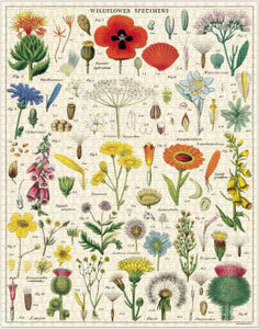 Wildflowers Vintage Inspired 1000 Piece Puzzle