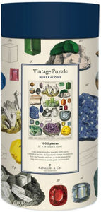 Mineralogy Vintage Inspired 1000 Piece Puzzle