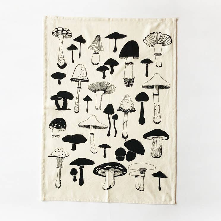 Mushrooms Kitchen Towel