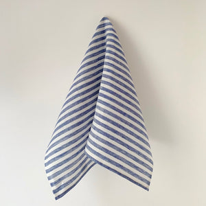 Blue & White Stripe Kitchen Towel