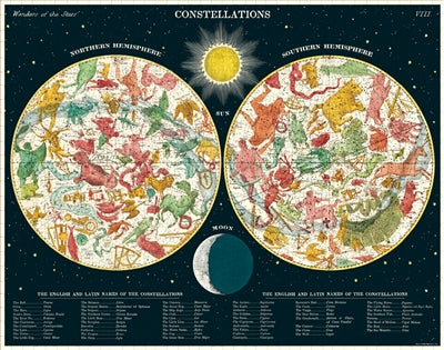 Constellations Vintage Inspired 1000 Piece Puzzle