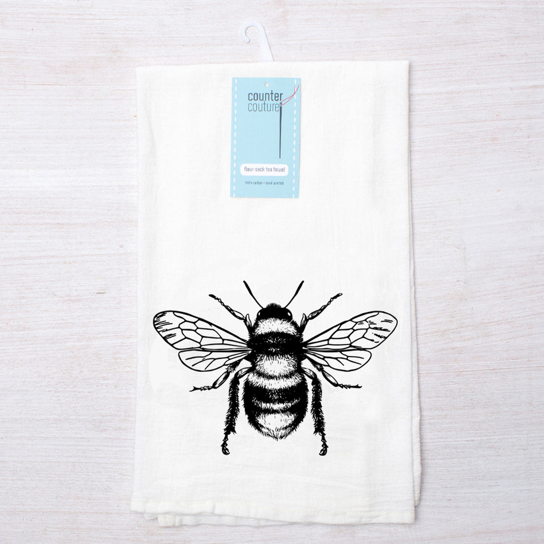 Honey Bee Flour Sack Towel