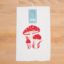 Load image into Gallery viewer, Toadstool Flour Sack Towel