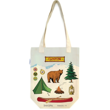 Load image into Gallery viewer, Camping Tote Bag