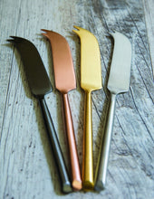Load image into Gallery viewer, Matte Copper Cheese Knife
