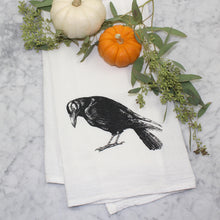 Load image into Gallery viewer, Crow Flour Sack Towel