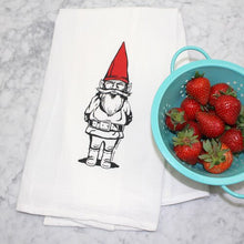 Load image into Gallery viewer, Garden Gnome Flour Sack Towel