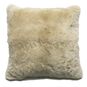 "Champagne Alpaca 20"" Pillow"