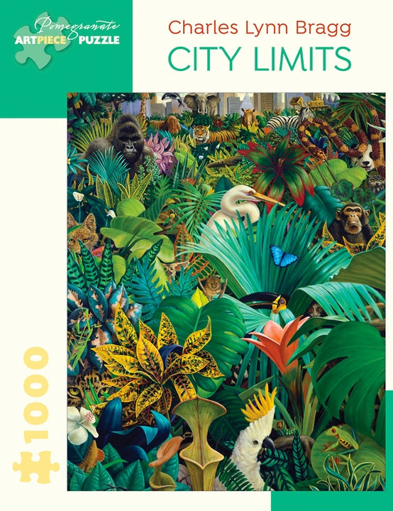 Charles Lynn Bragg: City Limits 1000 Piece Puzzle