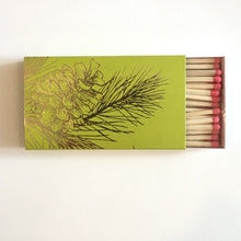 "Load image into Gallery viewer, Pine Cone 4"" Box Matches"