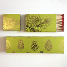 "Load image into Gallery viewer, Pine Cone 2"" Box Matches"