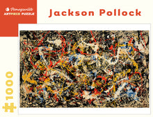 Load image into Gallery viewer, Convergence Jackson Pollock 1000 Piece Puzzle