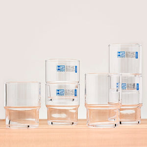 Stacking Glasses 8.5oz Set of 6