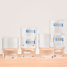 Load image into Gallery viewer, Stacking Glasses 7oz Set of 6