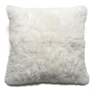"White Alpaca 20"" Pillow"