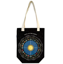 Load image into Gallery viewer, Zodiac Chart Tote Bag