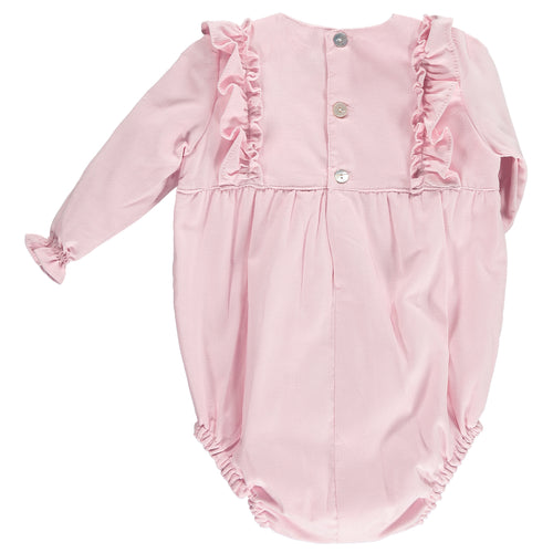 Pink Frilly Romper