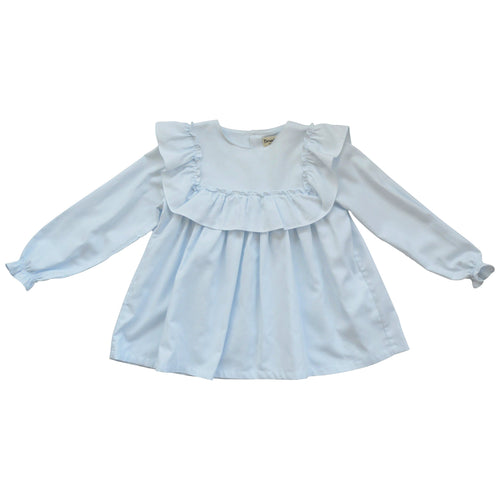 Blue Frilly Tunic