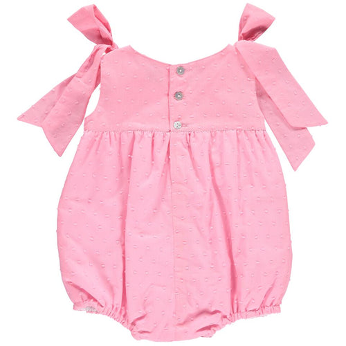 Pink Flash Plumetti Romper