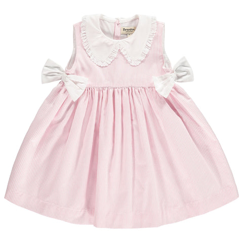 Pink Cherry Ruffle Dress