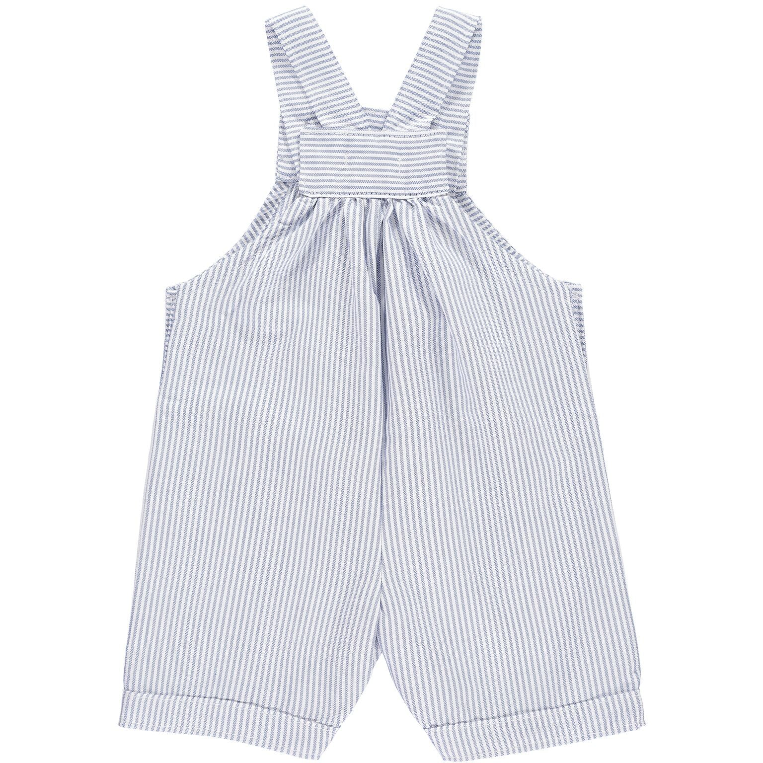 Stripy Denim Romper
