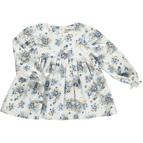 Royal Flowers Romper