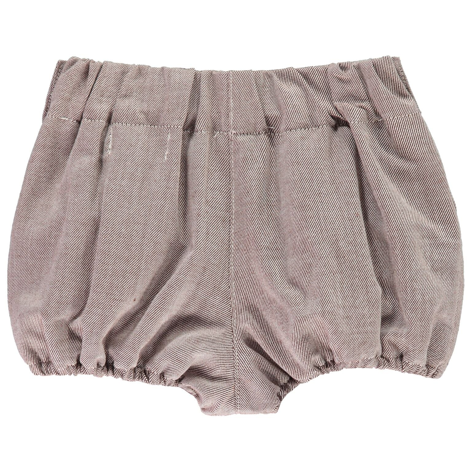 Brown Baby Bloomers
